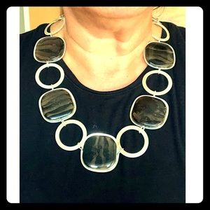 Banana Republic Stone Statement Necklace